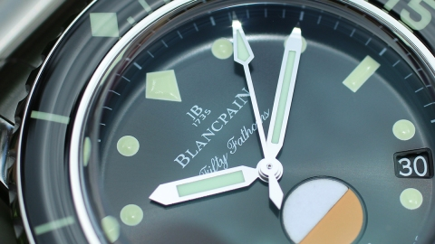 Blancpain Tribute to Fifty Fathoms Dial