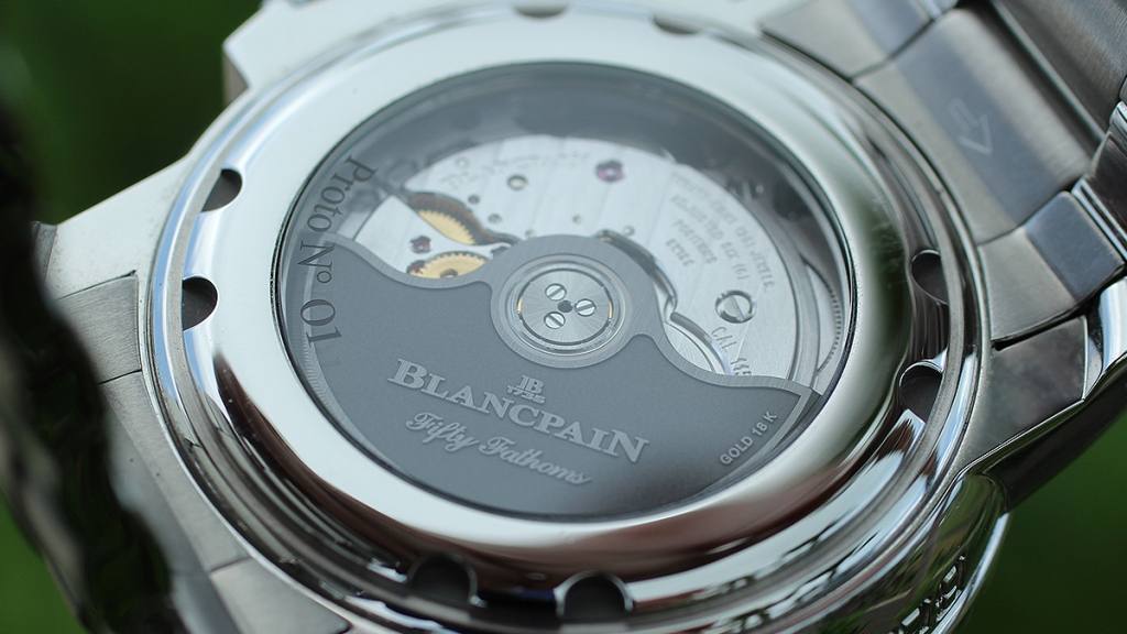 Blancpain Tribute to Fifty Fathoms Movement
