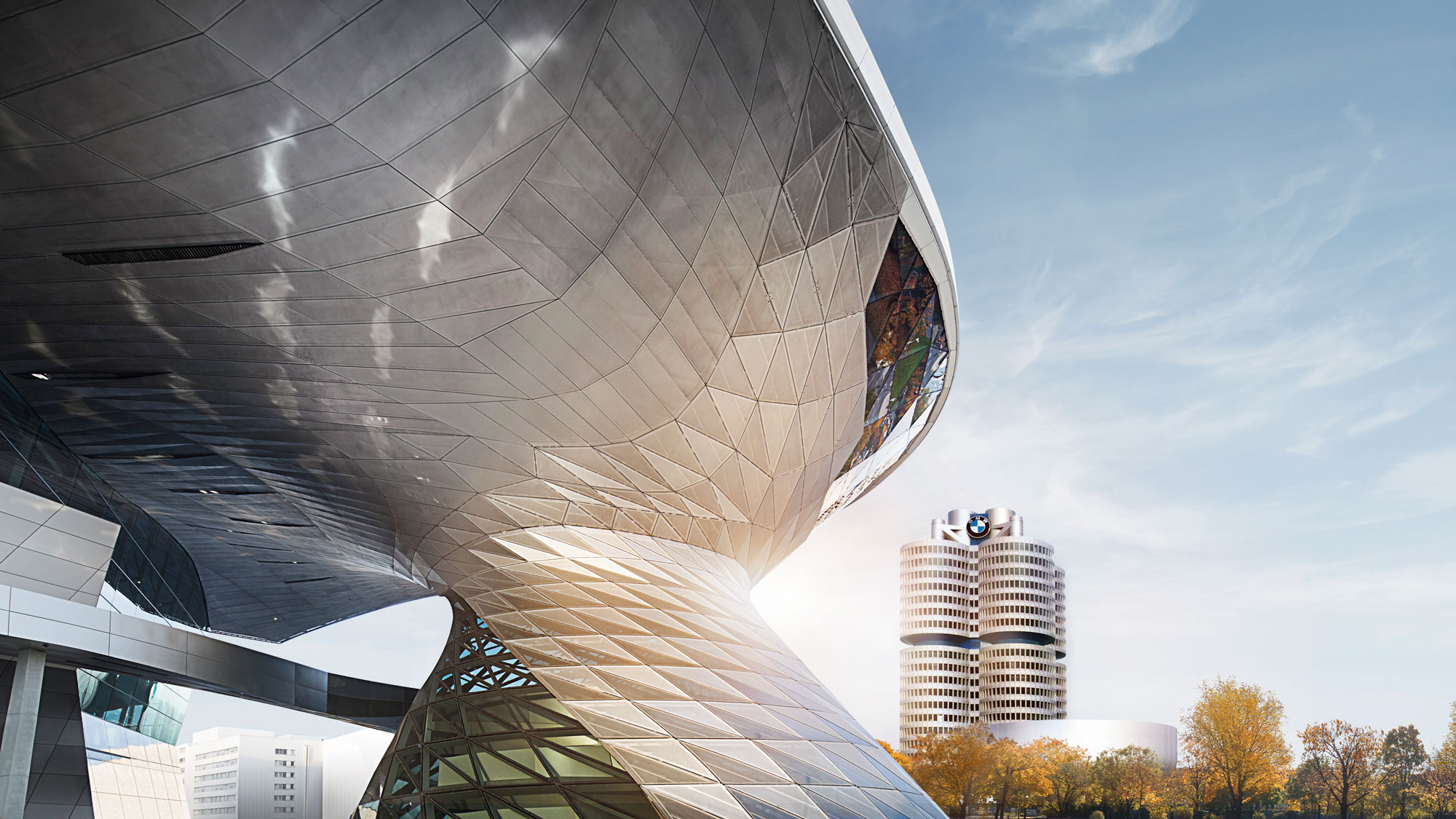 Exterior of the BMW Welt