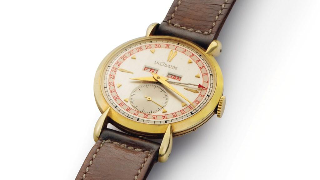 Bob Hope's Jaeger LeCoultre Triple Calendar Watch