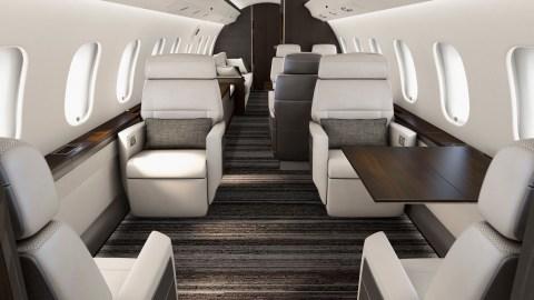 Bombardier Premier Cabin Global 5000 Global 6000 Corporate Jet