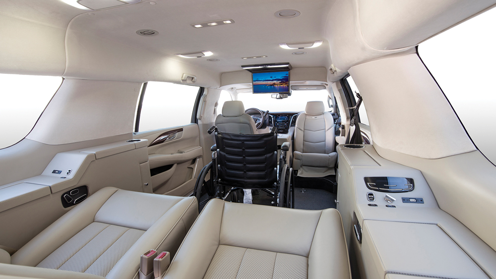 Becker Cadillac Escalade ESV Luxury Mobility Vehicle