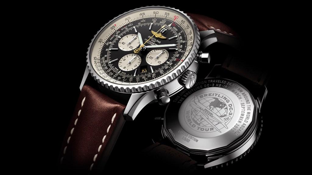 Breitling DC-3 Navitimer Watch