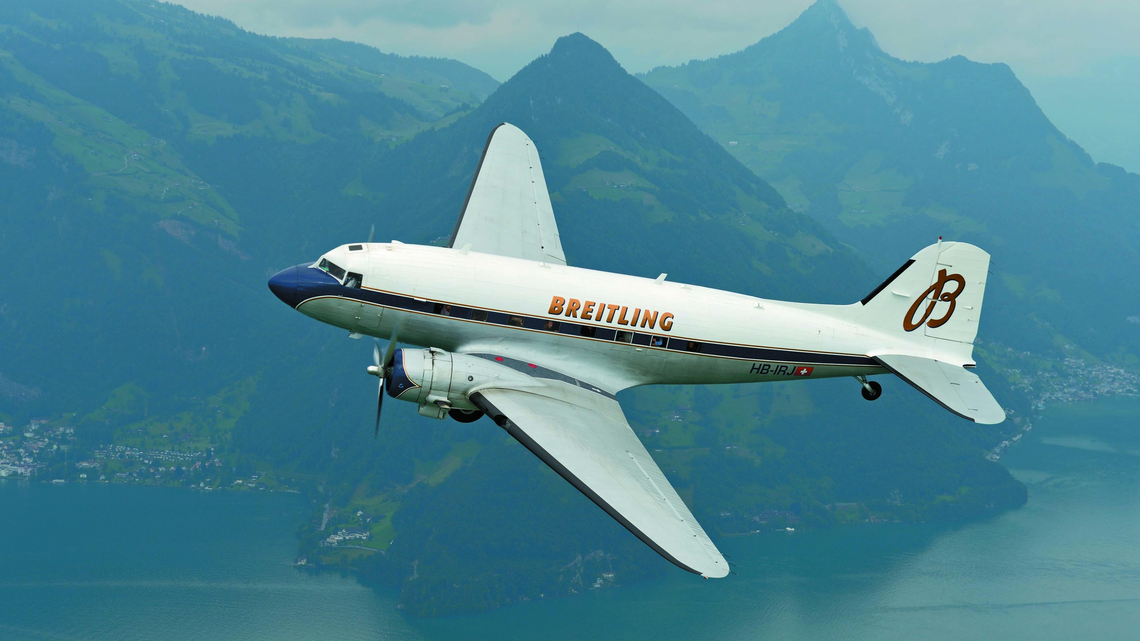 Breitling DC-3 Vintage airplane
