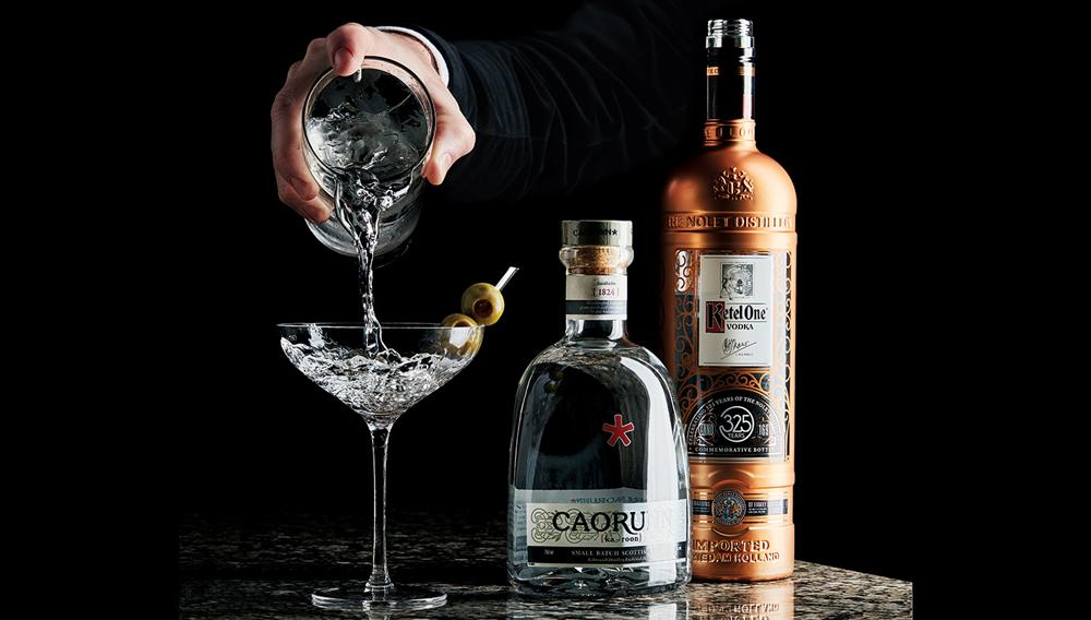 Caorunn Scottish Gin & Ketel One 325th Anniversary Bottle