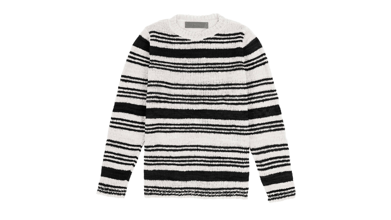 Elder Statesman striped sweater