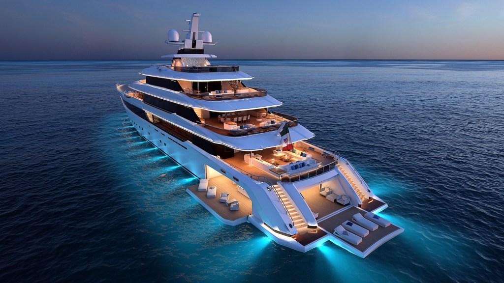 Columbus 80m superyacht Italian yacht Palumbo