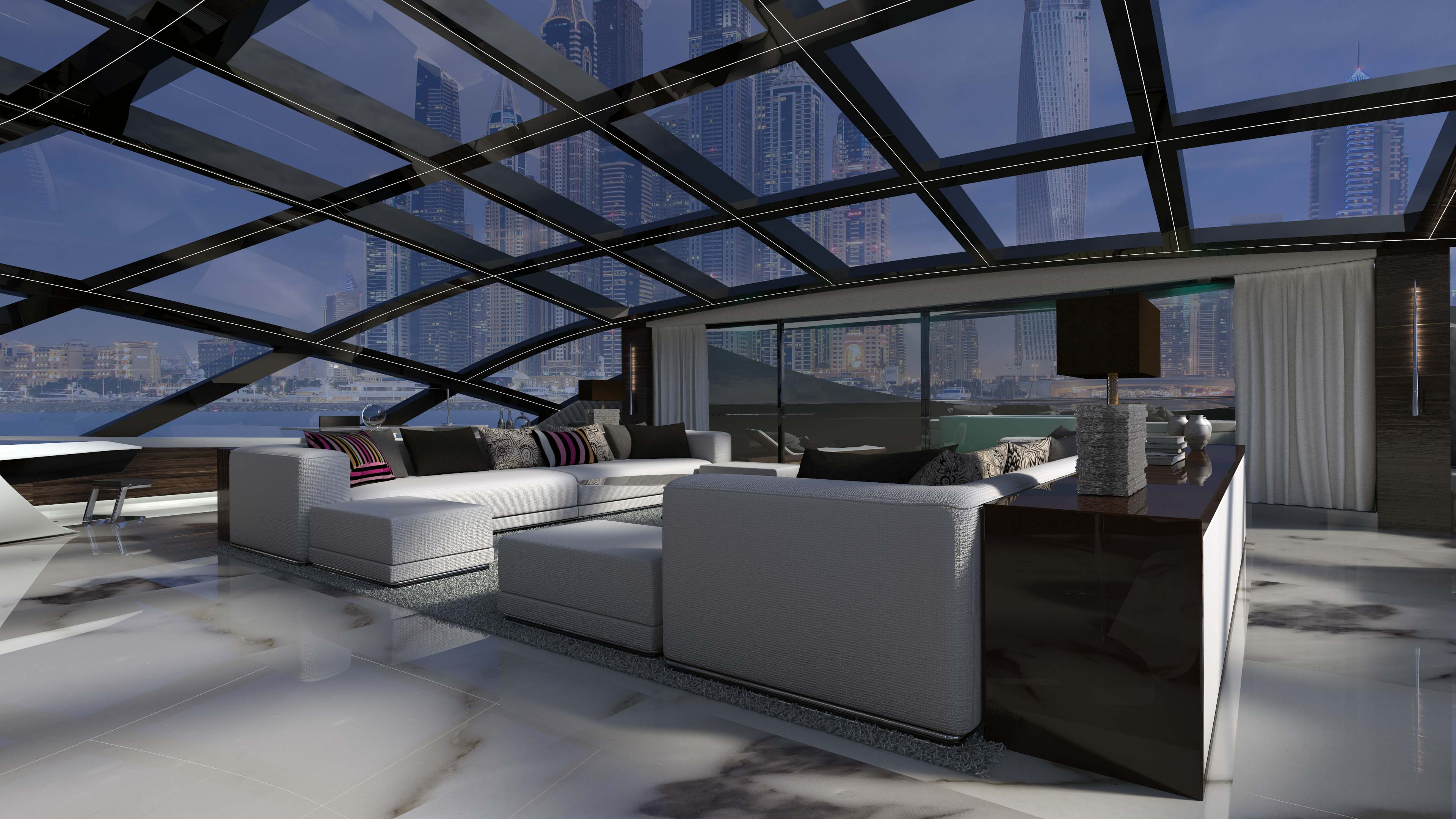 Cosmos explorer yacht concept from Luiz DeBasto and Oceanco