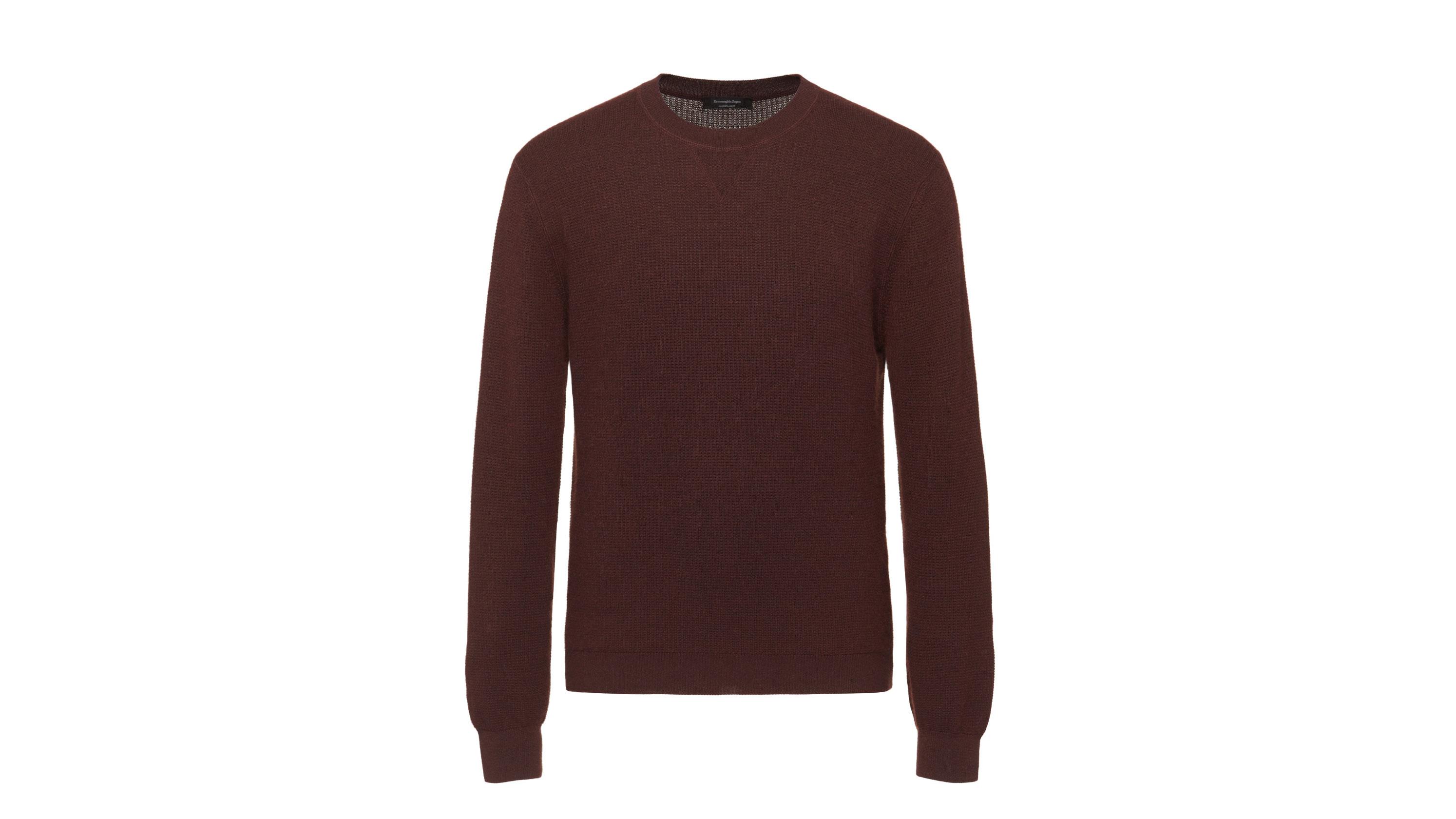 Ermenegildo Zegna waffle-knit sweater