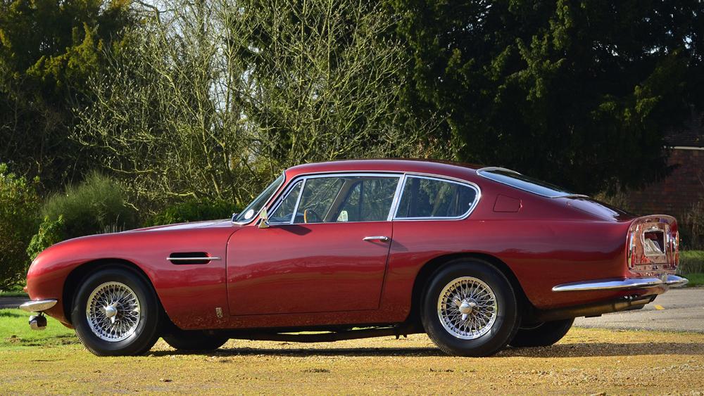 1966 Aston Martin DB6 in red