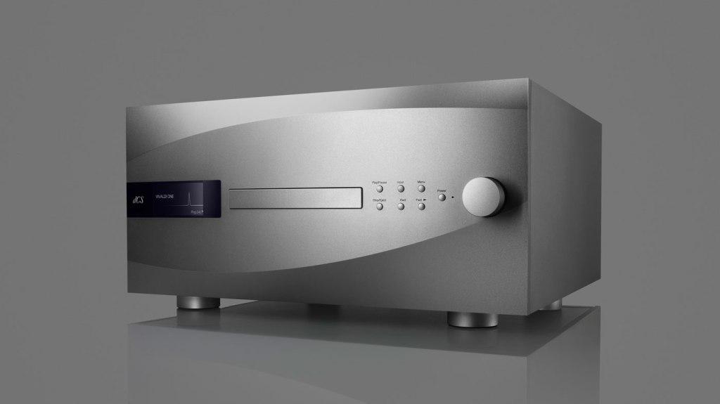 dCS Vivaldi One in anodized silver