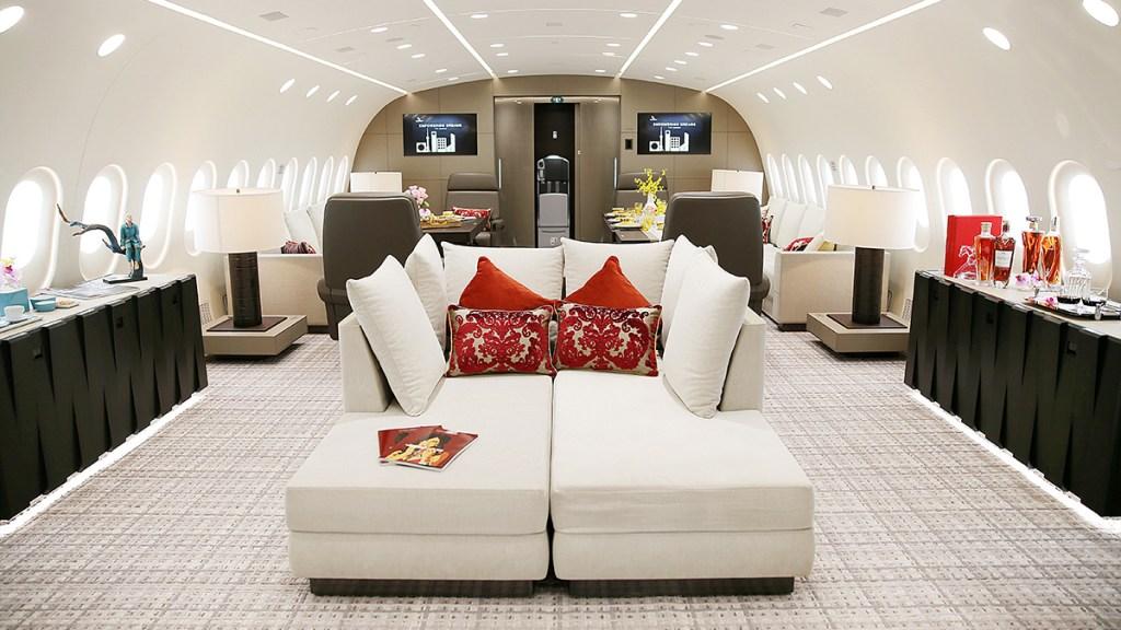 Boeing VVIP 787 business jet Dream Jet