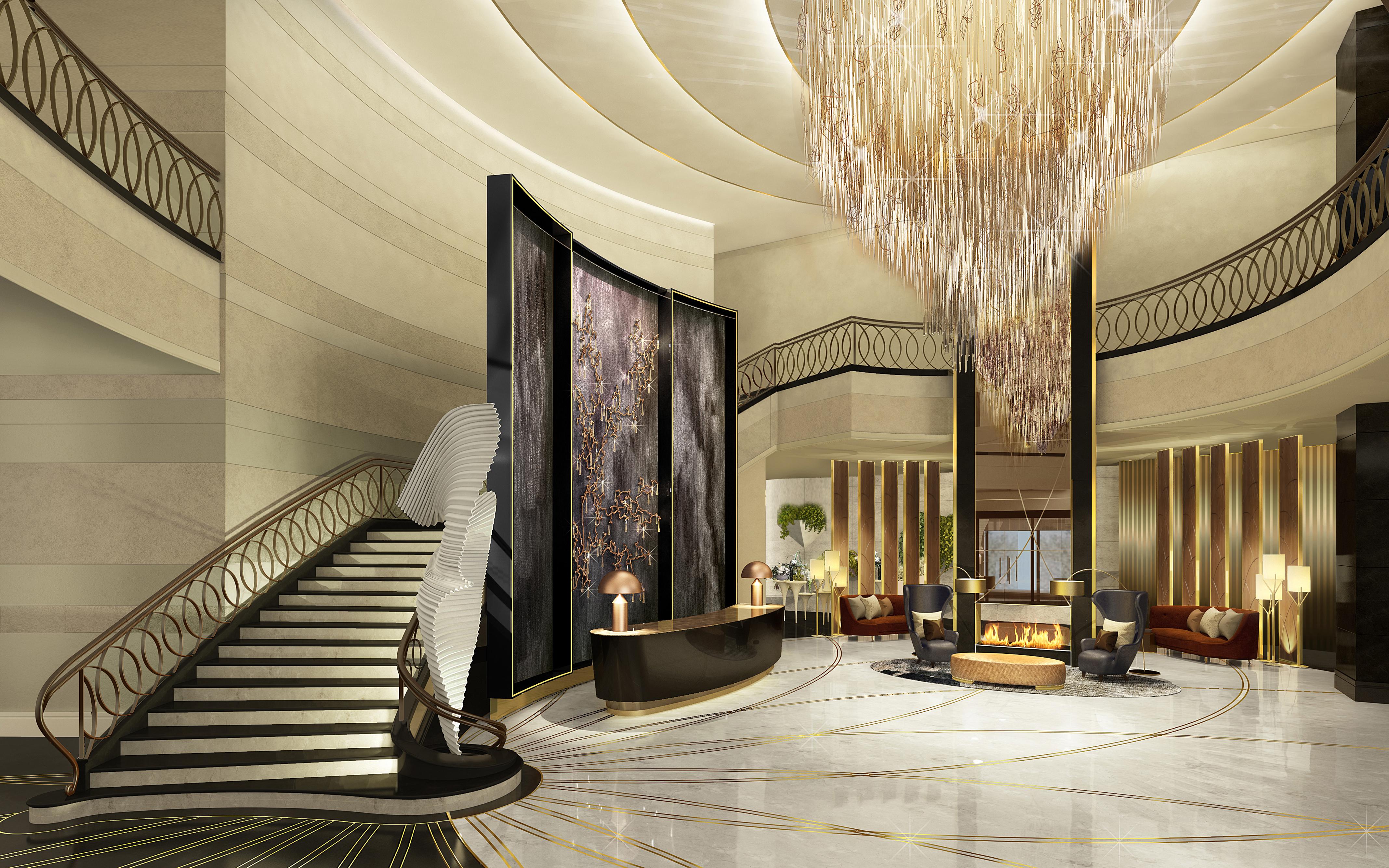 Ritz-Carlton, Astana lobby