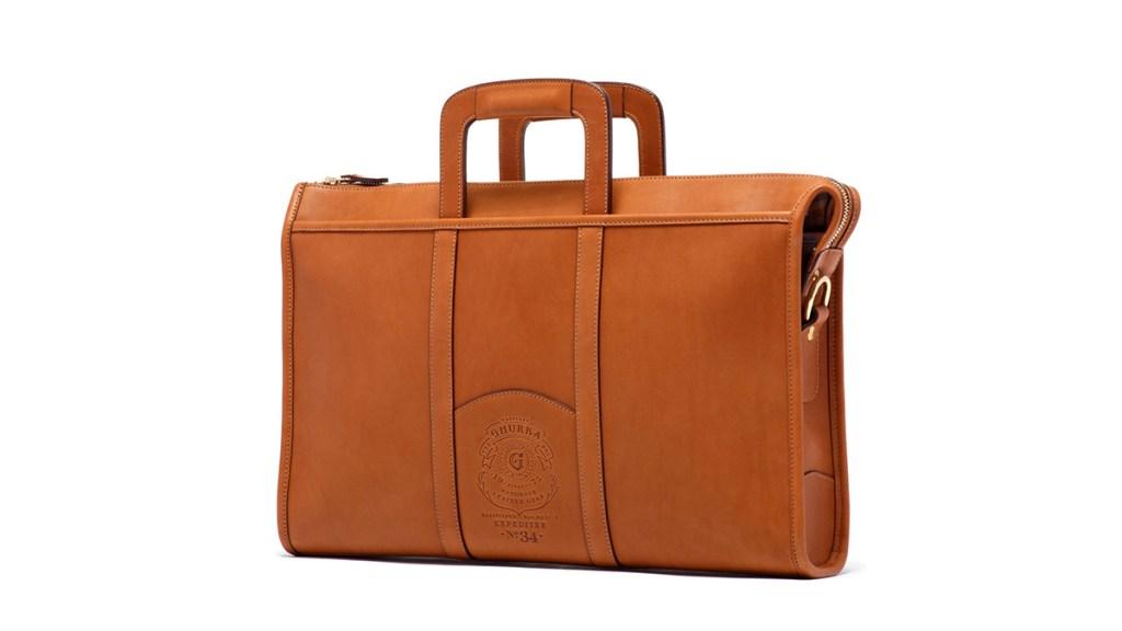 Ghurka Leather Briefcase