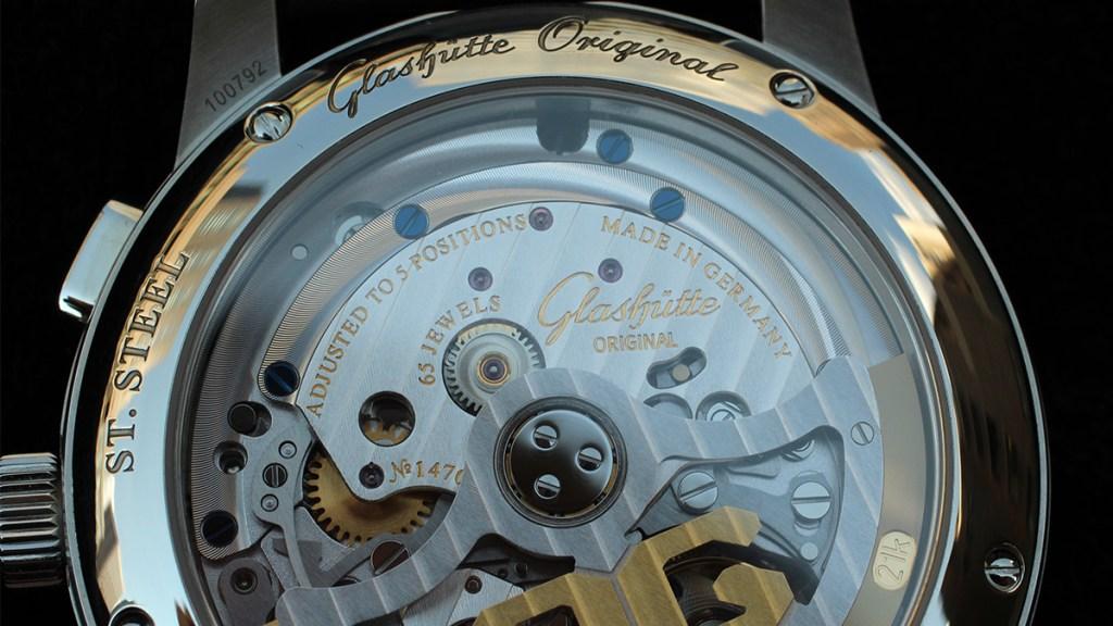 Glashutte Original Senator Chronograph Movement