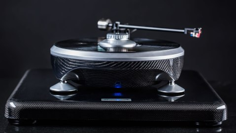 front view of Parabolica turntable