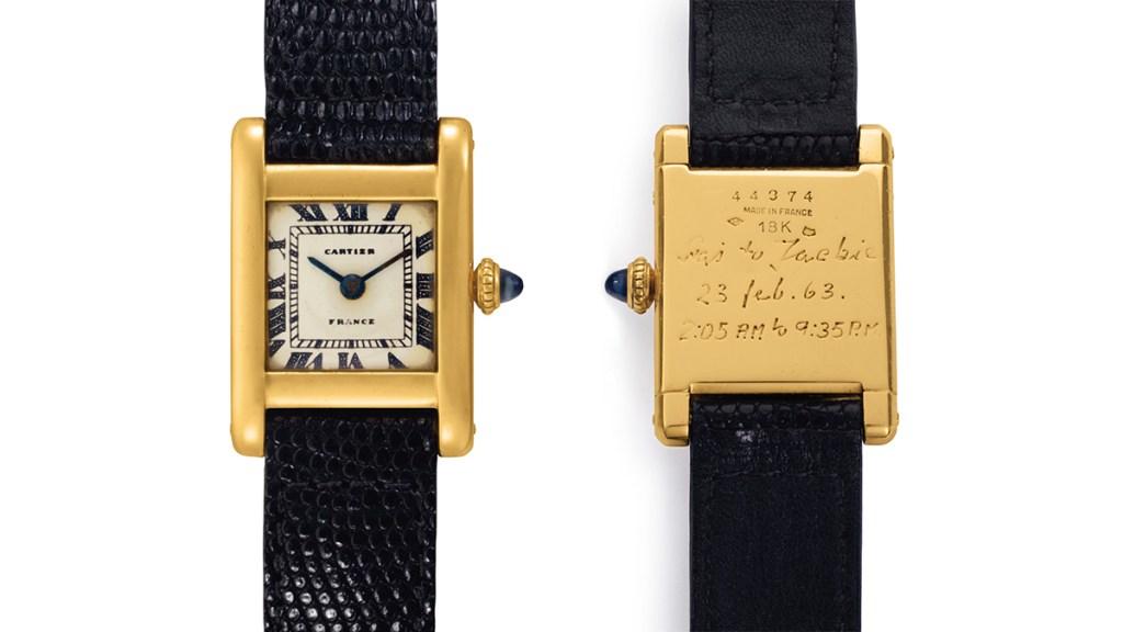 Jackie Kennedy Onassis' Cartier Tank Watch