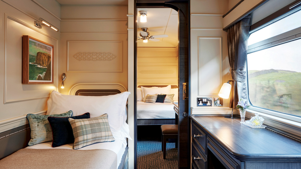Belmond Grand Hibernian bedroom