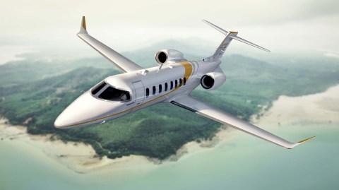 Bombardier Learjet 75 business jet
