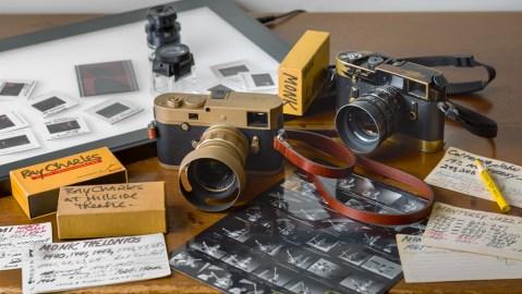 Leica M Monochrom Limited Edition Jim Marshall Set