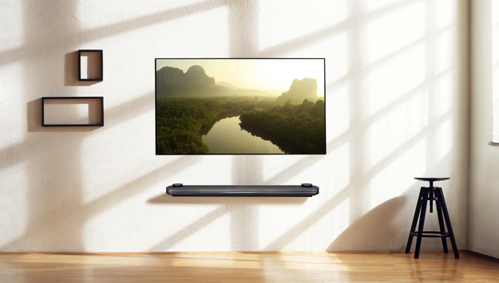 LG Signature OLED65W7P television