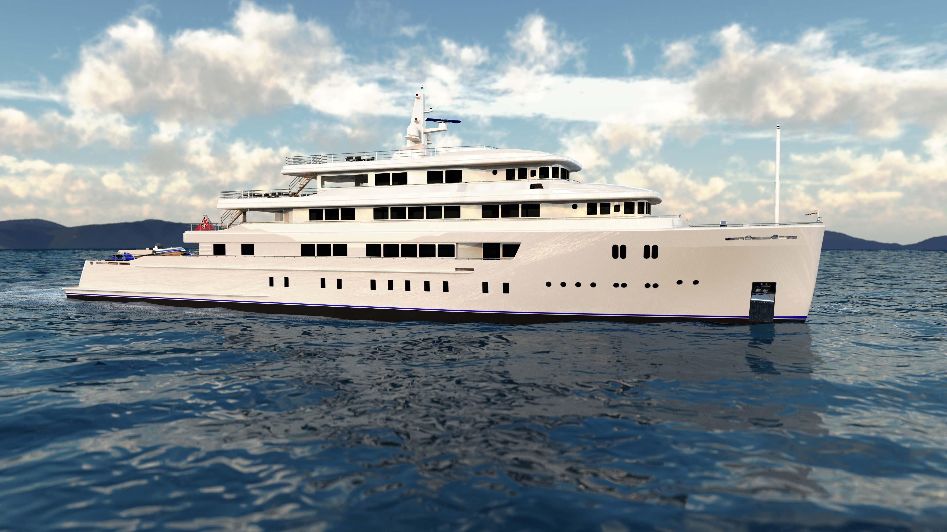 Manta 65 Explorer Yacht Superyacht Marimecs Eurocraft Hot Lab Italy Netherlands Dutch