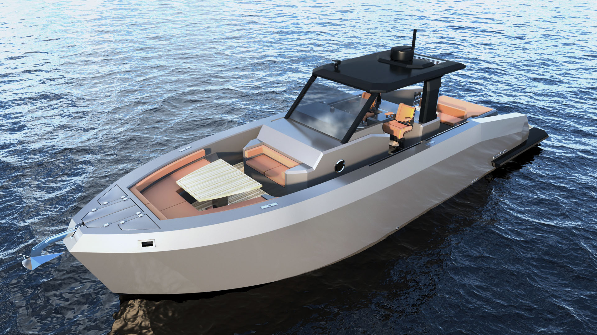 Mazu Yachts 42 Walkaround day boat