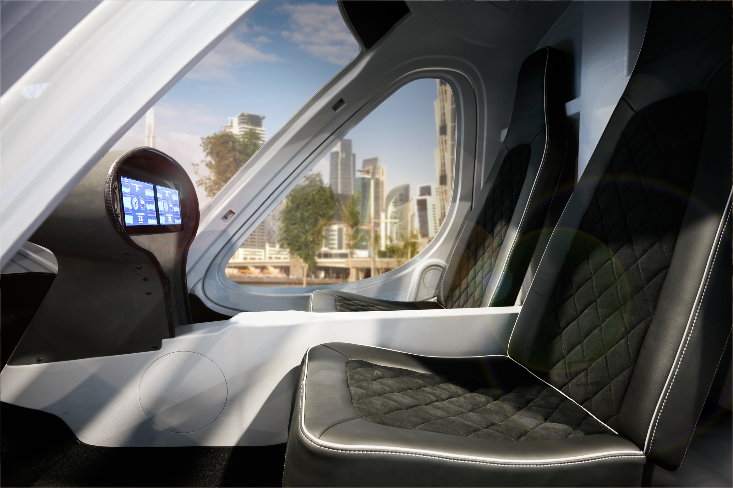 Volocopter 2X Air Taxi helicopter Dubai autonomous