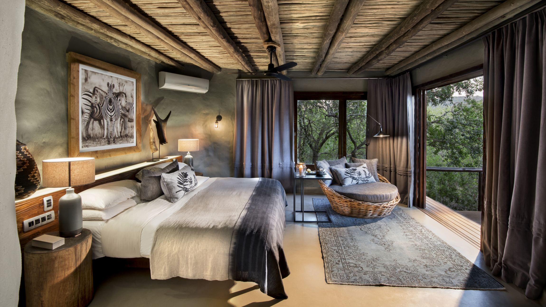 AndBeyond Phinda Rock Lodge renovation before and after South Africa