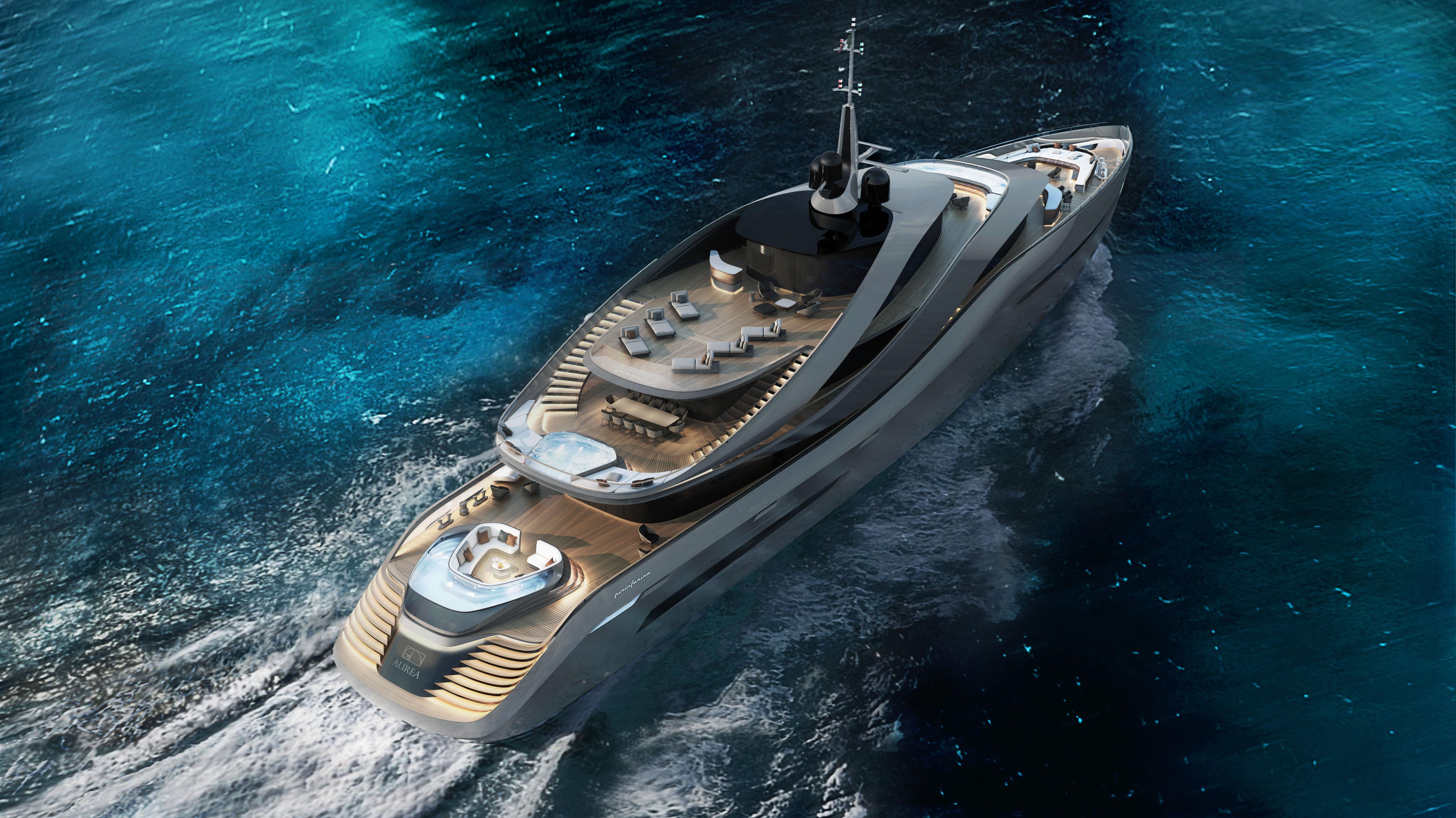 Pininfarina Rossinavi Yachts Aurea Concept Yacht