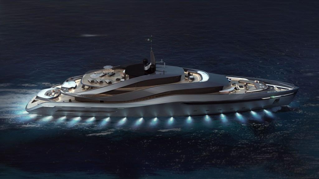 Pininfarina Rossinavi Yachts Aurea Superyacht Concept