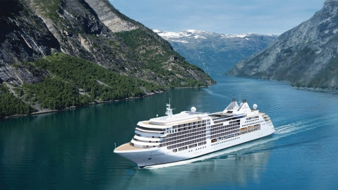 Silversea's Silver Muse Luxury Cruise Ship
