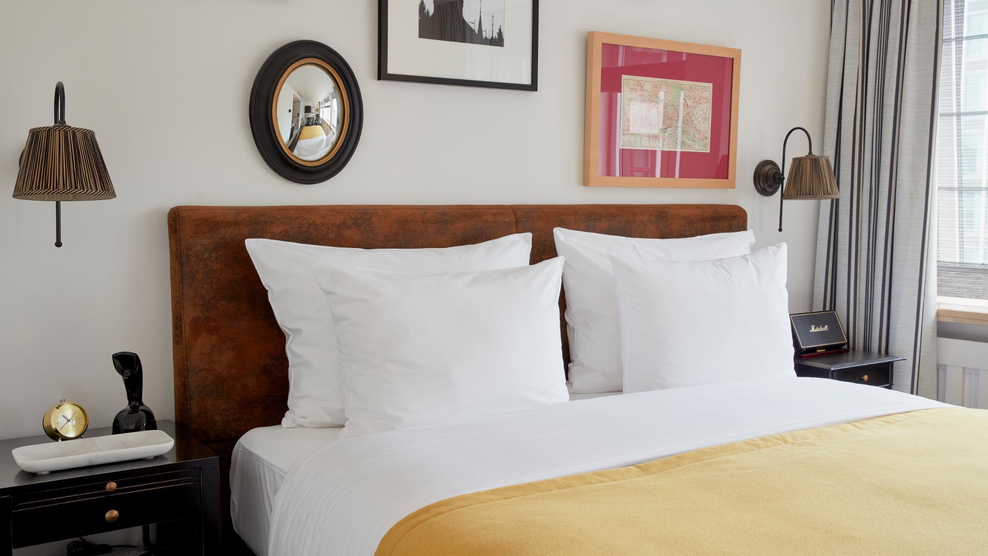 Bed in Sir Nikolai Guestroom