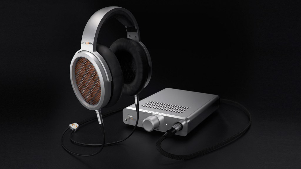 Sonoma Model One headphones and amp system