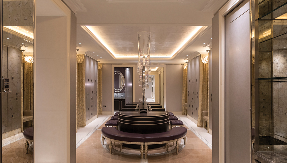 The Lanesborough Club & Spa foyer