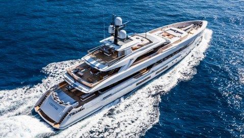 Tankoa's Vertige Superyacht Italian