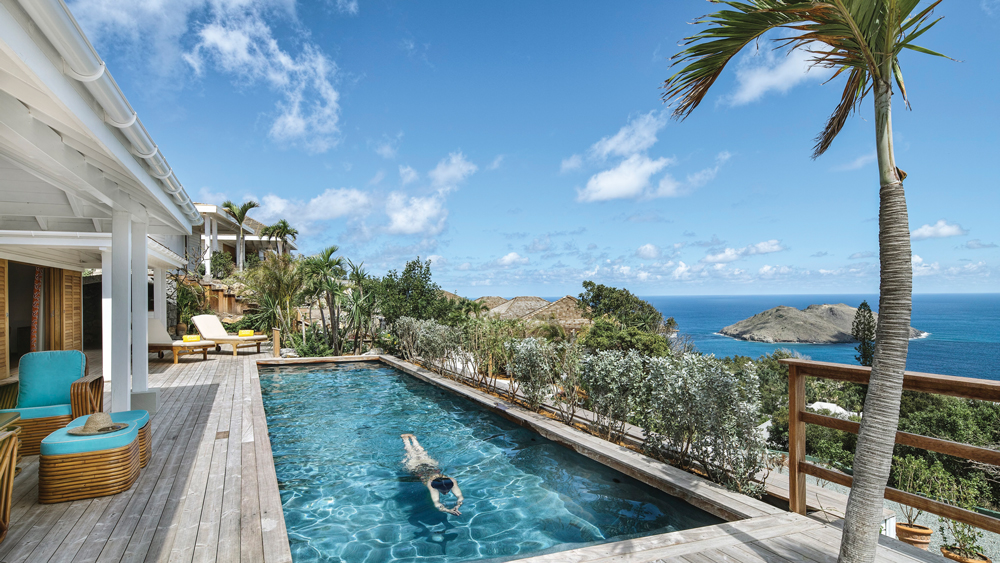 Villa Marie brings an eclectic style to the hills of Colombier