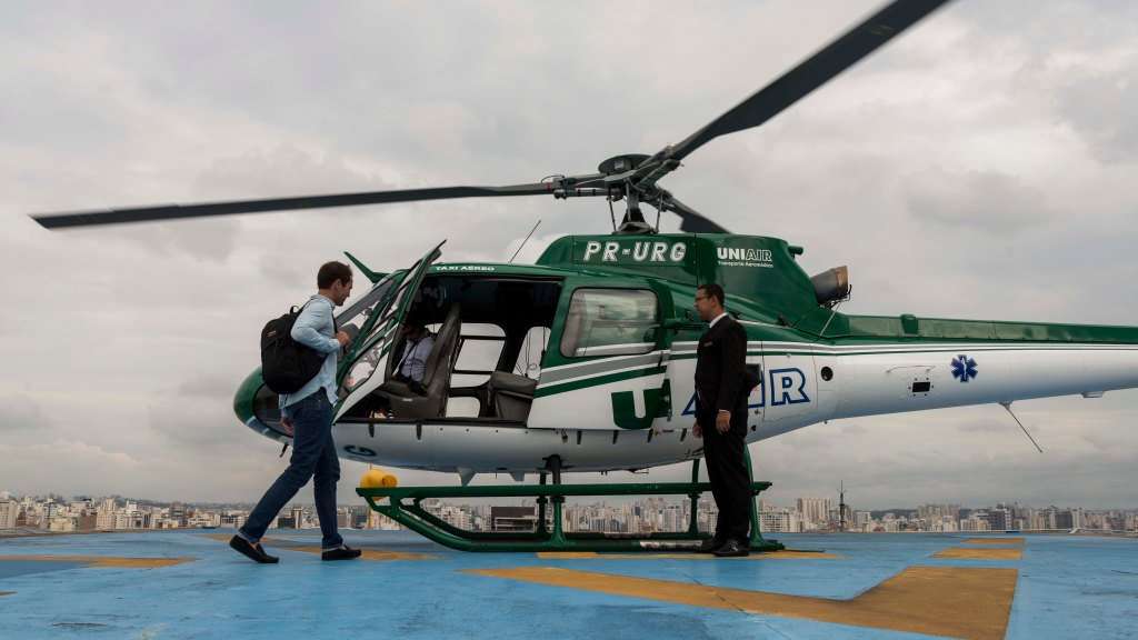 Voom On-Demand Helicopter Service