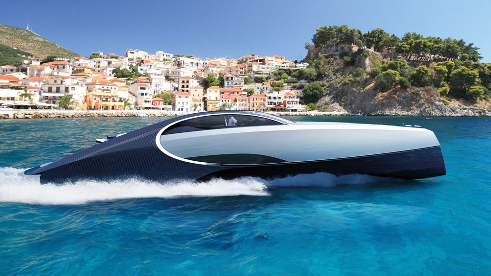Palmer Johnson Bugatti Niniette 66 day boat yacht