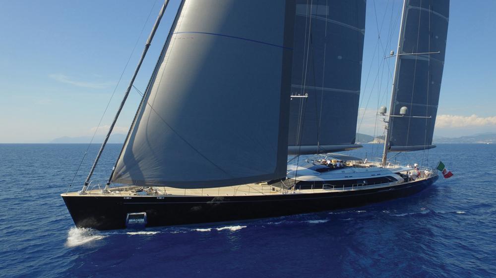 Perini Navi Sybaris Sailing Yacht