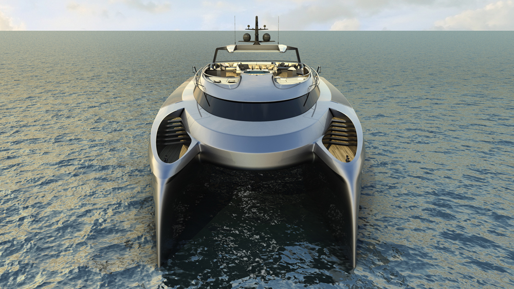 Project Ego Yacht Concept