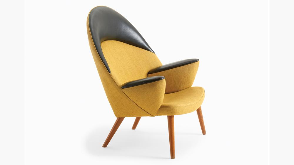 Wegner easy chair from Dansk Møbelkunst