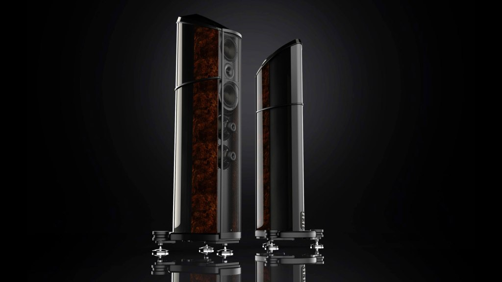 A pair of Wilson Benesch Resolution loudspeakers
