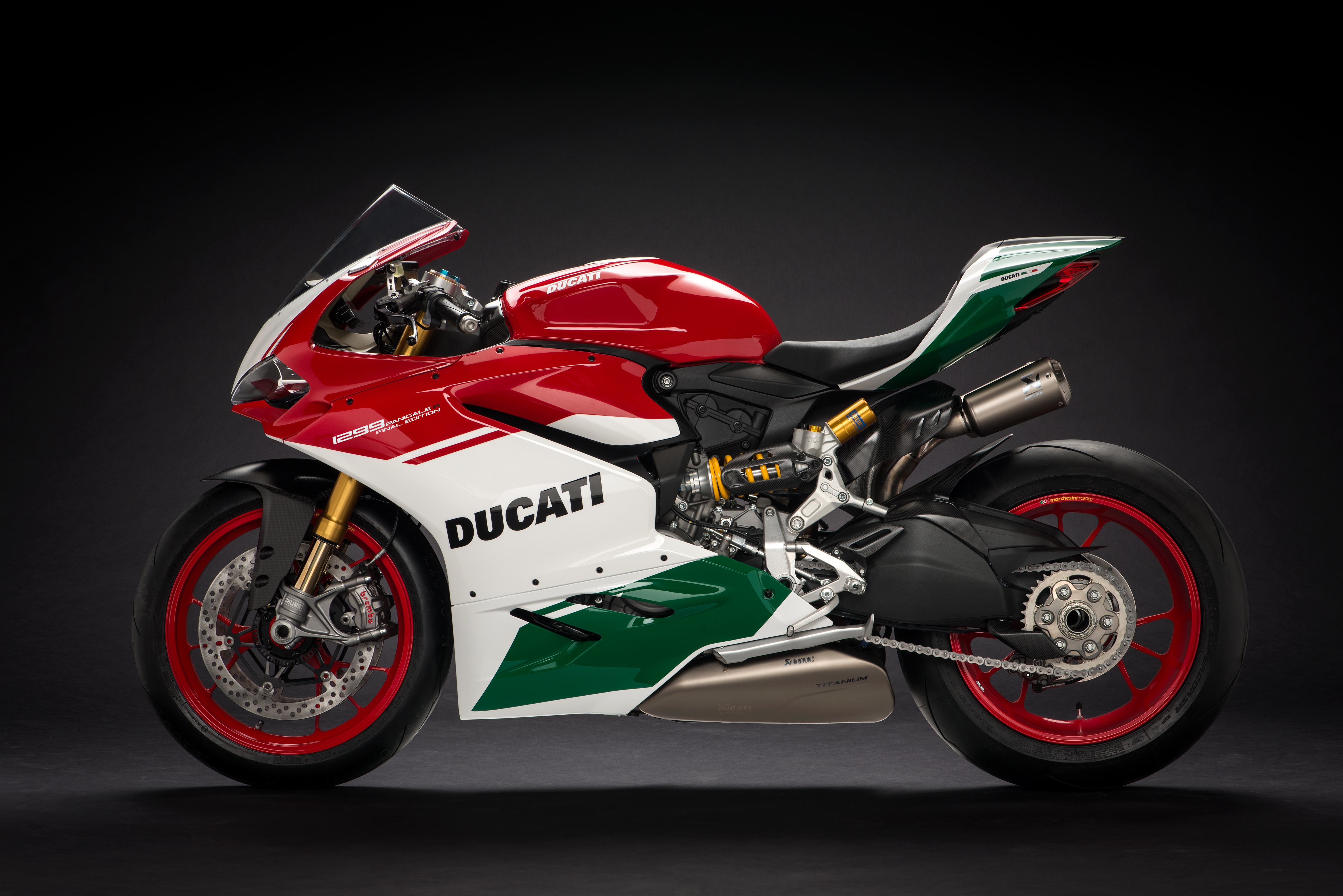 An image of the Ducati 1299 Panigale R Final Edition.