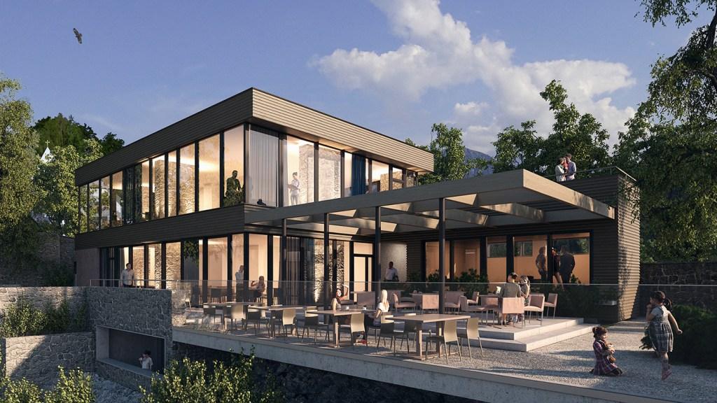 The Bürgenstock Hotel will open at Switzerland's Bürgenstock Resort in August