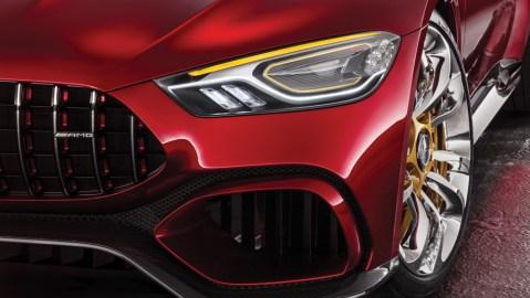 exterior of AMG GT Concept Mercedes-Benz