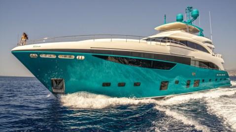 Anka Princess Yachts exterior