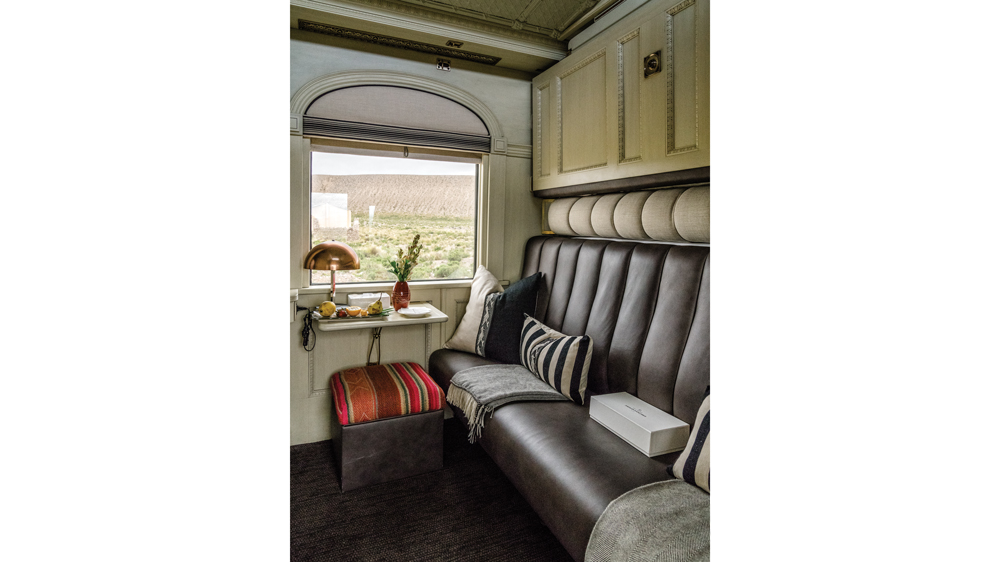 Belmond Andean Explorer bunk bed cabin interior
