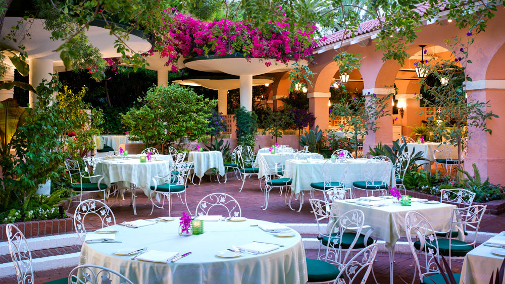 Beverly Hills Hotel Polo Lounge Patio
