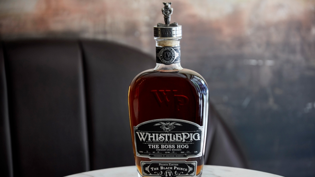 An image of the Boss Hog: The Black Prince from WhistlePig.